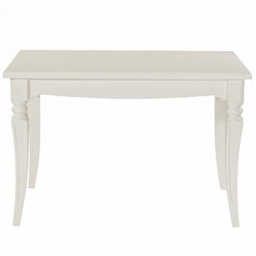Стол обеденный ПРОВАНС прямоугольный раздвижной 1200х800 (+500) (белый)